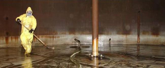 Limpieza de tanques almacenamiento de hidrocarburos for Limpieza de tanques de combustible